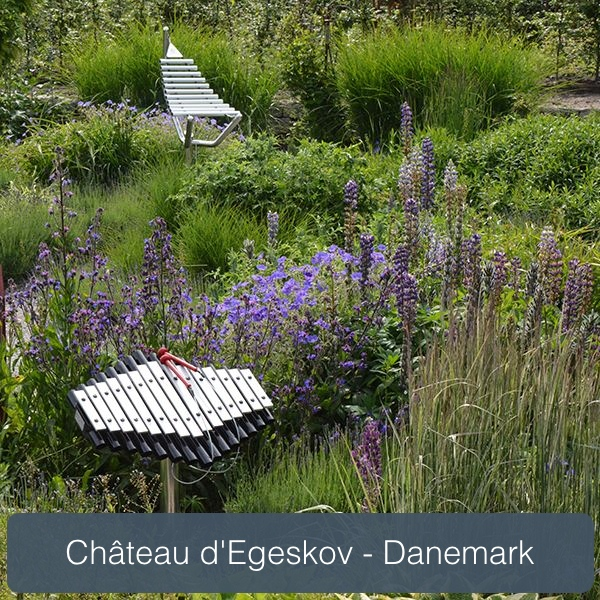 sansa-rimba et harmonie dans le parc d'egeskov