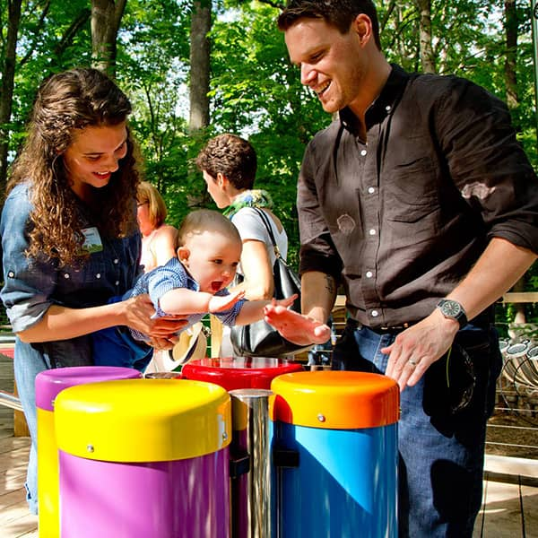 percussion play pour attractions familiales