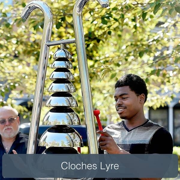 cloches lyre